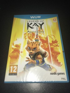 Wii U game Legend of kay anniversary brand new sealed