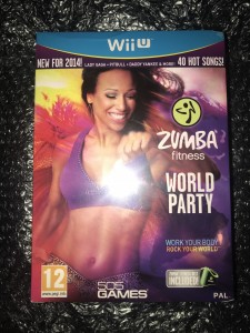 Wii U game Zumba fitness world party rare english uk version brand new sealed