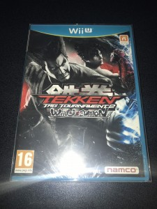 Wii U game tekken tag tournament 2 brand new sealed