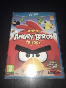 Wii U game angry birds trilogy brand new sealed