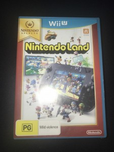 Wii u Nintendo land aus selects exclusive brand new and sealed