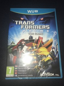 Wii u Transformers prime the game brand new and sealed