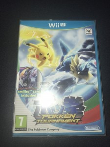 Wii u Pokemon tournament with amiibo card brand new and sealed