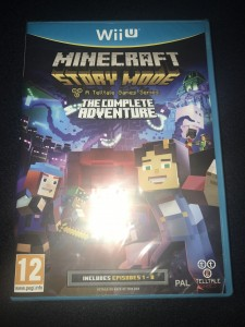Wii u Minecraft story mode brand new and sealed