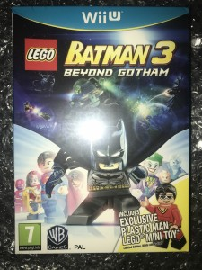 Wii u Batman 3 beyond gotham rare plastic man minifigure brand new and sealed