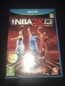 Wii u Nba 2K13 brand new and sealed