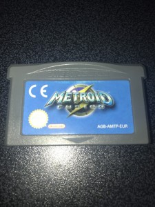 Gameboy advance gba game metroid fusion