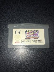 Gameboy advance gba game street fighter 2 revival