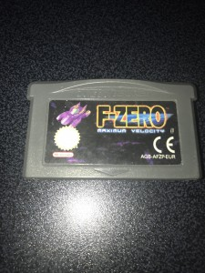 Gameboy advance gba game f-zero maximum velocity