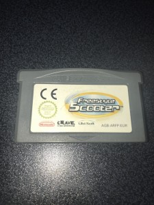 Gameboy advance gba game freestyle scooter