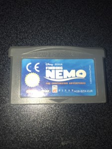 Gameboy advance gba game finding nemo