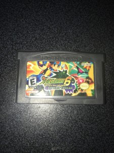 Gameboy advance gba game megaman battle network 6 cybeast gregot - usa ver