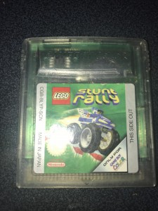 Nintendo gameboy color game Lego stunt rally