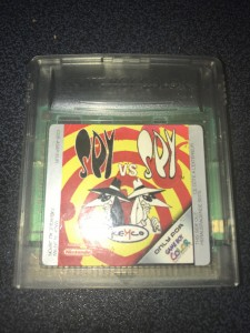Nintendo gameboy color game spy vs spy