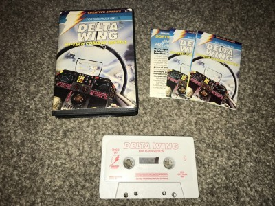 zx spectrum game delta wing - creative sparks